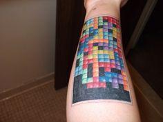 Tetris-Leg-Tattoo