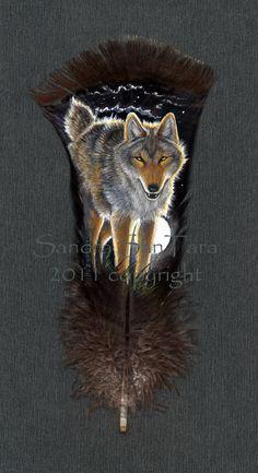Coyote Moon by ssantara.deviantart.com