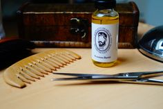 Bartley's Beard Oil and a collection of other Bartley's Beard Care Products.