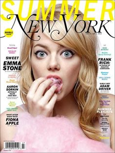 New York Mag feat Emma Stone