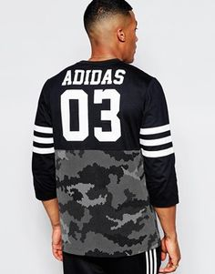 Camiseta de manga larga AB7845 de Adidas Originals