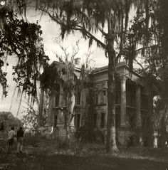 Belle Grove Iberville Parish, Louisiana Henry Howard, circa 1855 Destroyed by fire, 1952.