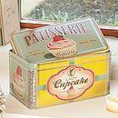 Lady Cupcakes Storage Tin