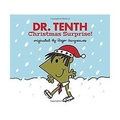 Doctor Who Mr. Men - Dr. Tenth: Christmas Surprise! | ThinkGeek