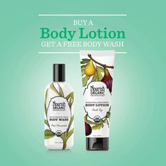 On Day 4, get a FREE body wash with the purchase of any body lotion!