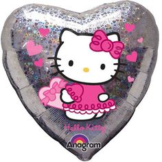 Hello Kitty Holographic 18 Inch Mylar Party Balloon >>> Click on the image for additional details.Note:It is affiliate link to Amazon.