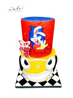 Who Framed Roger Rabbit Cake. Call or email to order your celebration cake today. Click visit below to learn more. Rabbit Cake, Cakes Today, Roger Rabbit, Cupcake Wars, Jessica Rabbit, Desserts To Make, Celebration Cakes, Custom Cakes, 50th Anniversary