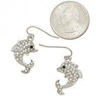 #cybermonday #stockingstuffer #jewelry Designer Inspired Dolphin Earrings with Rhinestones / Rhodium Plated Hail Mary Gifts,http://www.amazon.com/dp/B00COPQWNI/ref=cm_sw_r_pi_dp_A8oNsb1Q3SZFM7NS