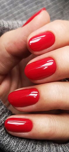 38 Red Nails Design Ideas 2019 Different Coffin Acrylic Polish Matte and Manicur. Red Matte Nails, Matte Nail Art, Red Acrylic Nails, Pink Nails, Red Nail Designs, Short Nail Designs, Short Red Nails, Rhinestone Nails, Nagel Gel