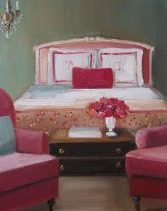 """Designer Pink"" by Janet Hill"