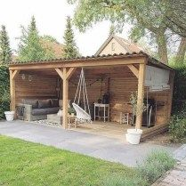 Incredible Diy Outdoor Bar And Storage Ideas - Re-Wilding Small Backyard Patio, Backyard Patio Designs, Backyard Landscaping, Patio Ideas, Landscaping Ideas, Backyard Ideas, Diy Außenbar, Diy Crafts, Diy Outdoor Bar
