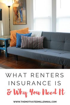 Are you renting a house or apartment? You need renters insurance to protect all your stuff! Learn what renters insurance covers and why you need it. Renters Insurance, Home Insurance, Furniture Outlet, White Furniture, Millennials Are, Diy Bench, Diy Home Decor On A Budget, First Apartment, Renting A House