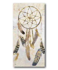 Love this Dream Catcher Gallery-Wrapped Canvas on #zulily! #zulilyfinds