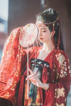Dresses for Women Chinese Clothing Traditional, Traditional Fashion, Traditional Dresses, Oriental Fashion, Asian Fashion, Kimono Tradicional, Poses, Mode Kimono, China Girl