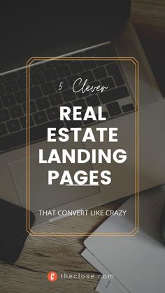 Convert your traffic into leads. Discover the essential elements of a great real estate landing page, as well as look at some landing page examples from top real estate agents that are up and running right now. #realestate #realestatetips #landingpages #funnel #website #realestatemarketing #webdesign #templates #theclose Landing Pages That Convert, Best Landing Pages, Real Estate Leads, Real Estate Tips, Real Estate Landing Pages, Landing Page Examples, Single Story Homes, Like Crazy, Up And Running