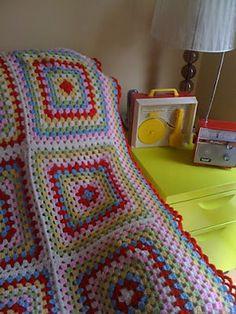 Ravelry: Emmachandranath's cath kidston inspired granny square blanket