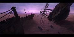 Ship_graveyard by i1i1