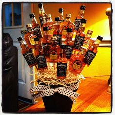Like This But More Variety Stephanie Elston Booze Bouquet Man Alcohol