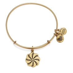 Eternity Symbol Charm Bangle ($28) ❤ liked on Polyvore featuring jewelry, bracelets, alex and ani jewelry, alex and ani bangles, unisex jewelry, charm bangles and alex and ani