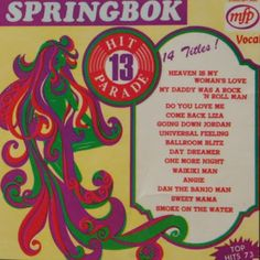 Springbok: Springbok Hit Parade Volume 01 To 30 One More Night, Lp Cover, My Daddy, Vintage Posters, Rock N Roll, Vinyl Records, Album Covers, The Dreamers, Texts