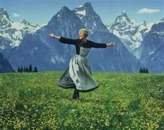 """Salzburg, Austria ~ where the Von Trapp family lived and inspired """"The Sound of Music"""" ~ here is Julie Andrews singing that unforgettable melody in """"the hills! Julie Andrews, Sundance Kid, John Travolta, Eddy Van Halen, 100 Memes, Funny Memes, Meme Maker, Golf Humor, Parenting Tips"""