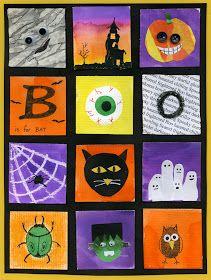 that artist woman: Halloween Inchies Part 1
