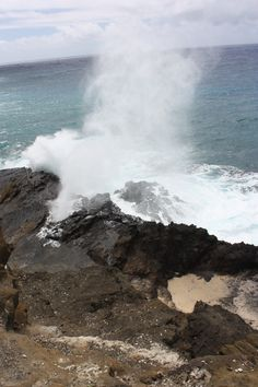 Halona Blowhole, East Coast Oahu, HI