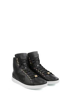 6e8de0f37 Perforated Medusa hi-top sneakers Versace Mens Shoes