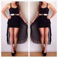 vestido elegante, puede usarse para alguna festa o antro