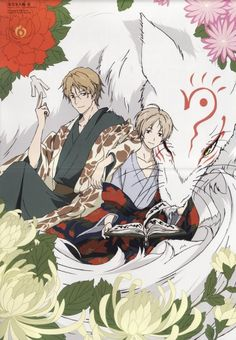 I just love this trio!! This anime just makes life more beautiful. I love how I feel while watching it. Its so special. Natsume Yuujinchou