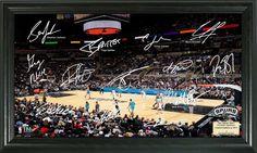 AAA Sports Memorabilia LLC - San Antonio Spurs Signature Court, $49.95 (http://www.aaasportsmemorabilia.com/nba/san-antonio-spurs/san-antonio-spurs-signature-court/)