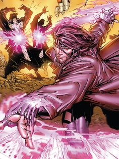 Panel from X-Men: Messiah Complex Art by Marc Silvestri (pencils), Joe Weems, Marco Gelli and Sheldon Mitchell (inks) and Frank D'Armata (colors). Gambit Marvel, Gambit X Men, Rogue Gambit, Marvel Dc Comics, Xmen, Marvel Heroes, Marvel Comic Books, Comic Books Art, Comic Art