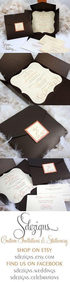 #Black & White Wedding Invitation... Wedding ideas for brides, grooms, parents & planners ... https://itunes.apple.com/us/app/the-gold-wedding-planner/id498112599?ls=1=8 … plus how to organise an entire wedding ♥ The Gold Wedding Planner iPhone App ♥