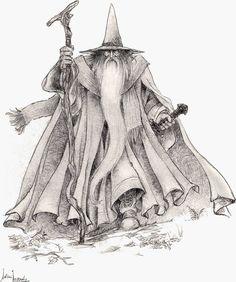 Gandalf - Multimedia - Ilustraciones, dibujos y fotos sobre El Hobbit, El Señor de los Anillos, la Tierra Media y la obra de J.R.R. Tolkien - Elfenomeno.com
