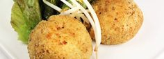 Risotto Balls - I thought these were delicious, toby was having none of it Cooking For A Crowd, Cooking Tips, Cooking Recipes, Baby Food Recipes, Great Recipes, Risotto Balls, Coles Recipe, Toddler Meals, Toddler Food