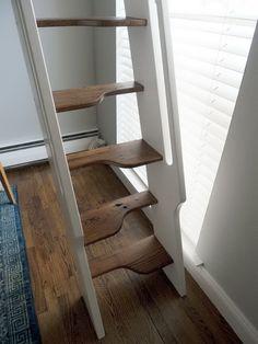 "Chelsea Alcove Studio Residence   Mary Davis Interiors -- the ""samba"" stairs, custom design/build project"