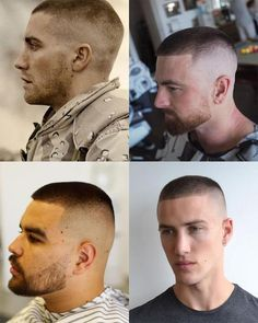 The high and tight is a military classic. Here's all you need to know about the high and tight haircut, plus hairstyles you can wear with it. Buzz Haircut, Fade Haircut, Boy Haircuts Short, Haircuts For Men, Jarhead Haircut, Hair And Beard Styles, Short Hair Styles, Marine Haircut, Military Haircuts Men