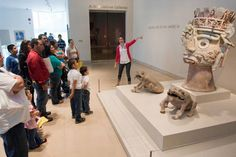 The Dallas Museum of Art offers a variety of special activities for families.