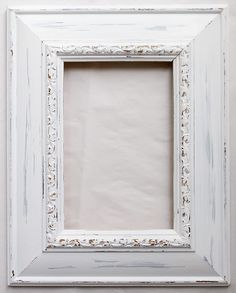 Shabby chic frame - Tutorial