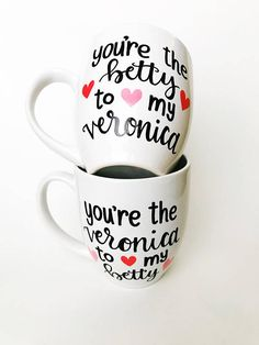 Riverdale Veronica Lodge Betty Cooper Riverdale Mug