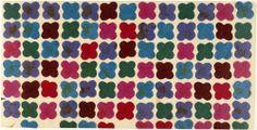 Alexander Girard for Herbert Matter, Cubist Paintings, Alexander Girard, New York Museums, Design Museum, Quatrefoil, Textile Design, How To Memorize Things, Wallpapers