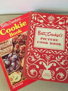 A personal favorite from my Etsy shop https://www.etsy.com/listing/222851930/betty-crockers-picture-cookbook-1950