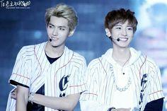 Kris and Chanyeol