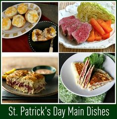 St. Patrick's Day Food and Drinks - homemade corned beef hash.