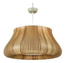 Ilios - Suspension bois clair en PVC - Habitat