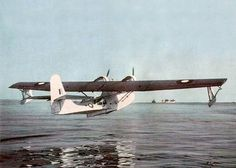 Consolidated PBY-5A Catalina. This was a very common site on the waters of the Menai Strait in Anglesey, North Wales, during WW2. The bare essentials aircraft was flown out from the United States and fitted out at Beaumaris to take on the German U Boats. They became a formidable weapon dreaded by the U Boat crews. rjp