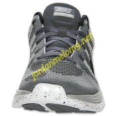 Wolf Grey 554887 001 Nike Flyknit Lunar 1 Mens Black White Dark Grey