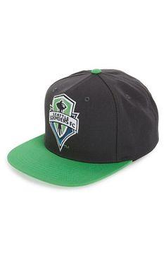 9d19e884f91 Seattle Sounders FC adidas MLS Jersey Snapback Cap