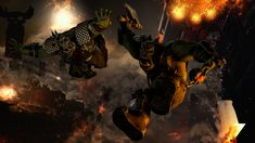 Orks Falling With Style by ThePerfectG on DeviantArt Orks 40k, Sci Fi, Deviantart, Style, Swag, Science Fiction, Outfits