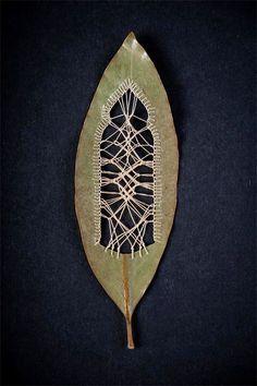 Folhas bordadas – Bem Legaus